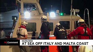 La lunga traversata dei migranti fra Malta e la Sicilia
