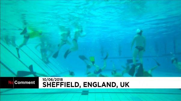 مسابقات هاکی زیر آب در انگلستان
