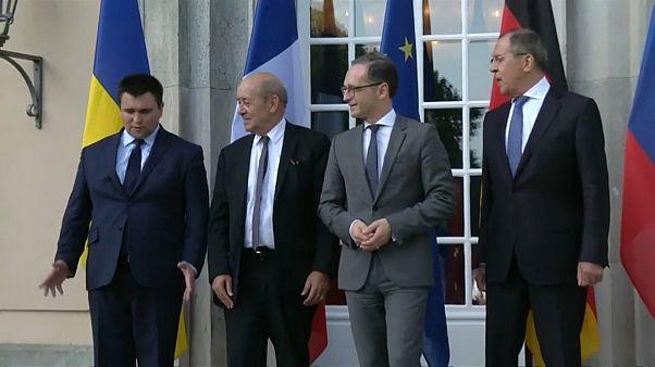 Ostukraine-Gespräche in Berlin