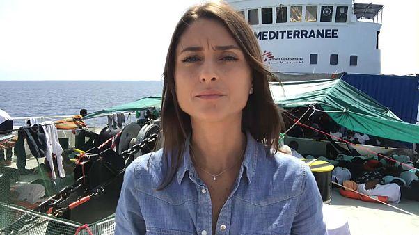 """Anelise Borges, Euronews: """"Los inmigrantes del Aquarius no quieren volver a Libia"""""""