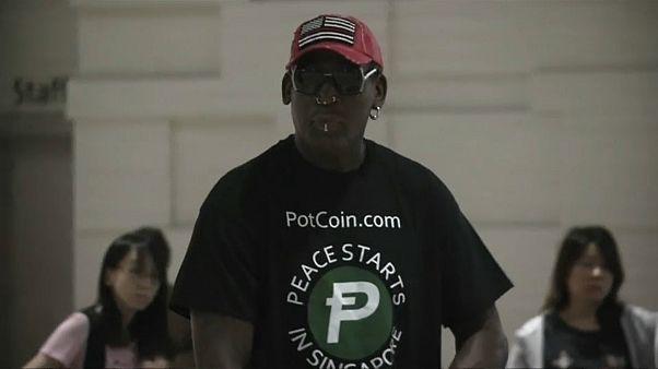 Dennis Rodman não podia faltar