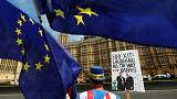 Manifestações anti-Brexit numa semana decisiva
