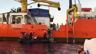 Exclusivo: Aquarius recusa levar migrantes para Espanha