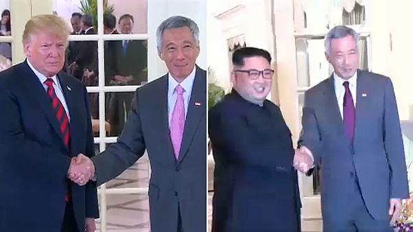 Kim-Trump-Treffen: Die Welt blickt auf Singapur