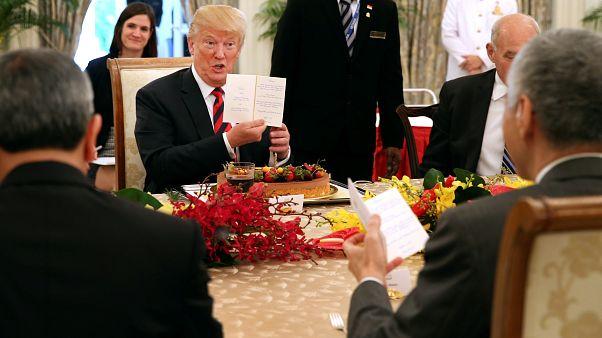 Исторический саммит Трампа и Кима