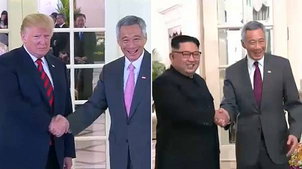 Tudo a postos para frente a frente entre Trump e Kim