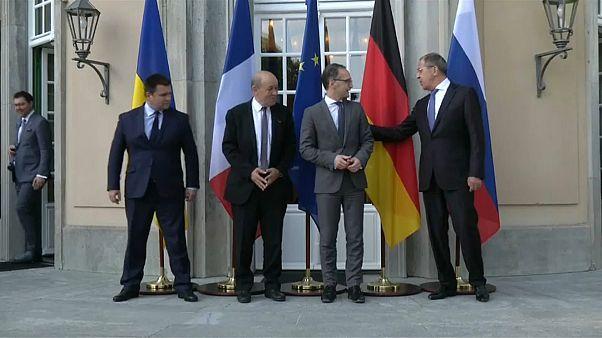 """""""Нормандская четверка"""" провела переговоры в Германии"""