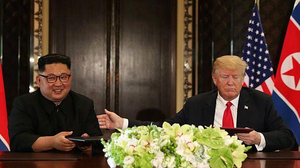 Trump: Kuzey Kore ile yeni bir tarih yazmaya hazırız