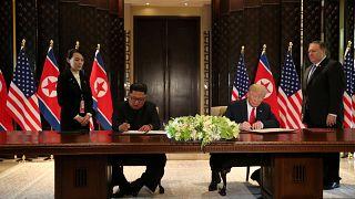 Τραμπ - Κιμ υπέγραψαν διμερή συμφωνία
