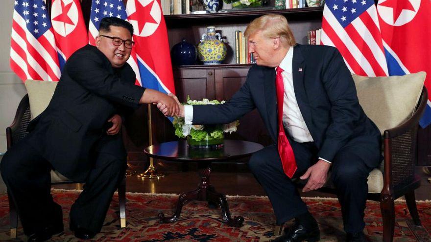 Trump y Kim acuerdan la desnuclearización de Corea del Norte en una cumbre histórica