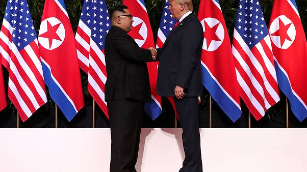 Watch: Trump and Kim make history at Singapore summit