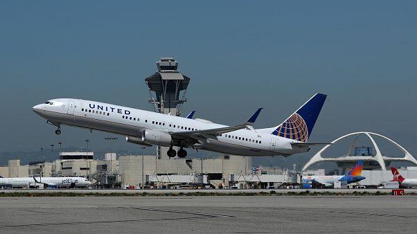 Σημείωμα για βόμβα σε αεροσκάφος της United