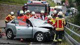 ألمانيا: إصابة طلاب بريطانيين في حادث اصطدام حافلة بسيارة