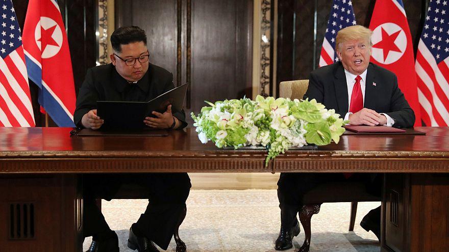 Singapur-Vereinbarung: Was haben Kim und Trump da unterschrieben?