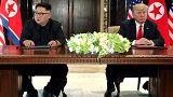 США и КНДР подписали совместный документ по итогам саммита в Сингапуре