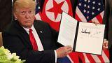 Mi volt a titkos dokumentumban, melyet a két vezető aláírt?