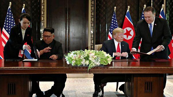 Estos son los cuatro puntos acordados por Trump y Kim en la cumbre de Singapur