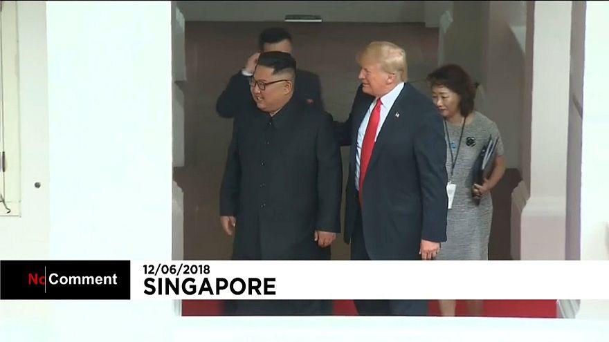 Rencontre au sommet entre Donald Trump et Kim Jong Un
