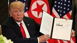 مفاد سند امضا شده میان آمریکا و کره شمالی چیست؟