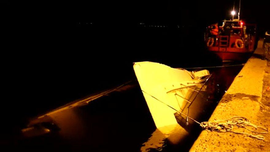 Halálos hajóbaleset a Volgán