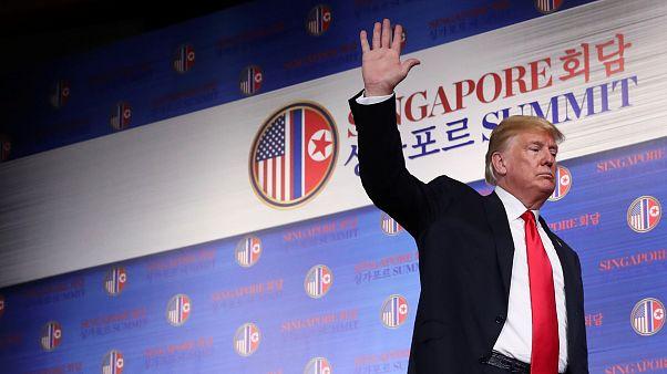 ماذا قال دونالد ترامب عن الزعيم الكوري الشمالي عقب قمة سنغافورة؟