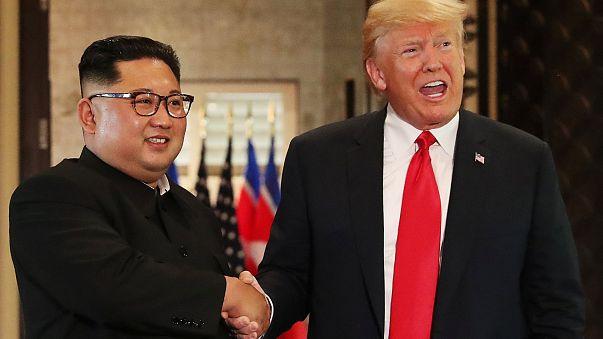 Trump ve Kim Jong-Un neye imza attı? Bildirgenin detayları