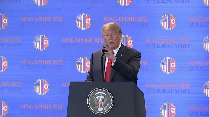 Donald Trump confiante no acordo com Kim Jong-un