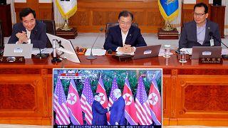 كوريا الجنوبية تعد بكتابة تاريخ جديد مع جارتها الشمالية