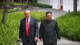 Trump ve Kim'in tarihi buluşmasında yaşanan 8 garip an