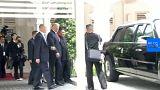 Trump 'Canavar' limuzinle Kim'e hava attı