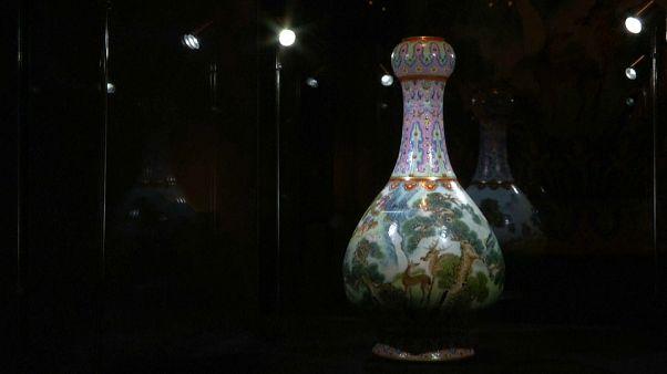 Un vase chinois à 16 millions d'euros