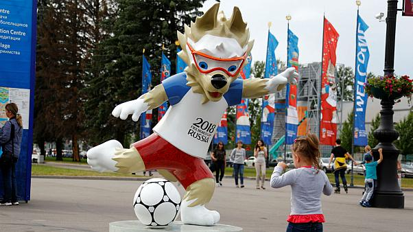 The Russia 2018 mascot... but what IS his name?