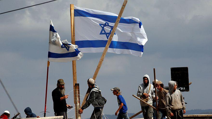 Снос еврейских поселений на Западном берегу реки Иордан