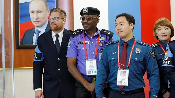 Une coopération policière contre les hooligans en Russie