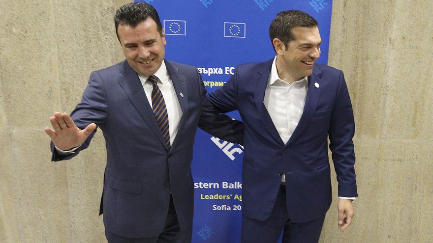 Los primeros ministros de ARYM y Grecia el pasado mes de mayo