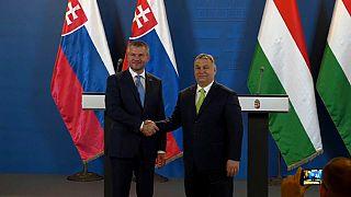 Peter Pellegrini and Viktor Orban