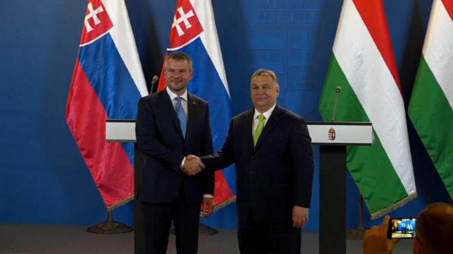 Peter Pellegrini and Viktor Orban