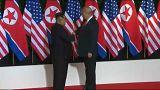 Trump y Kim Jong Un prometen cambios a escala mundial tras su reunión