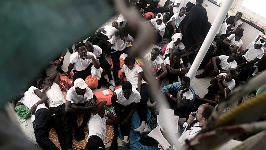 """Rettungsschiff """"Aquarius"""" auf dem Weg nach Spanien"""