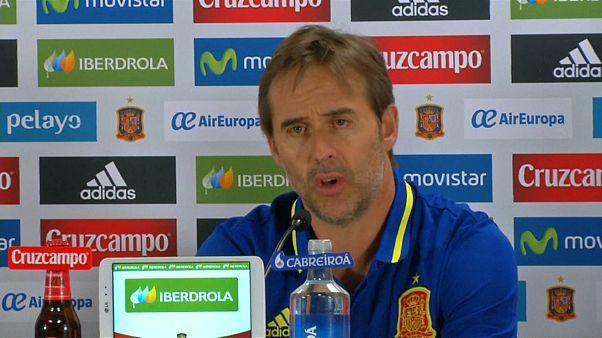 يولن لوبيتيجي يعلن توليه مهمته الجديدة وهي تدريب فريق ريال مدريد
