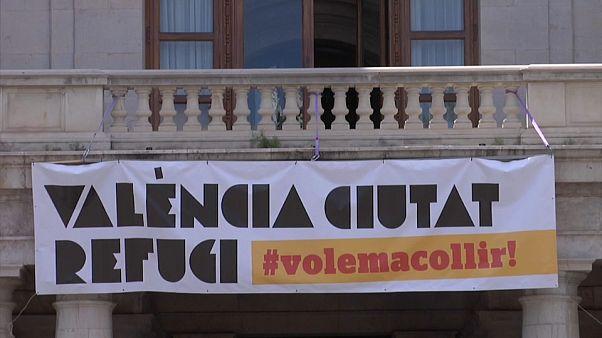 """Валенсия готовится к приему беженцев с """"Аквариуса"""""""
