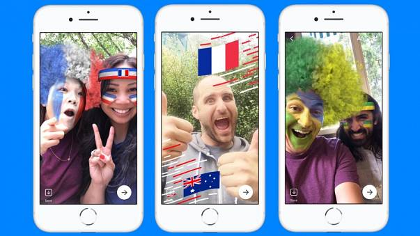 عرض للإطارات الجديدة التي سيتيحها فيسبوك خلال كأس العالم