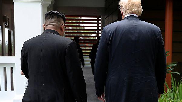 Trump e Kim Jong-un a caminho do futuro