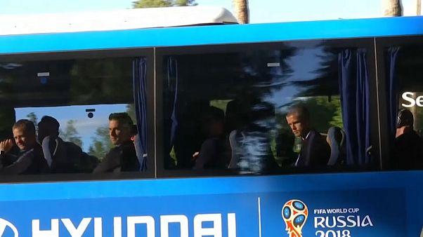 Mondiali, tutte le squadre sbarcano in Russia