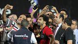 Çeçen lider Kadirov'la görüşen Mısırlı futbolcu Salah'a tepki
