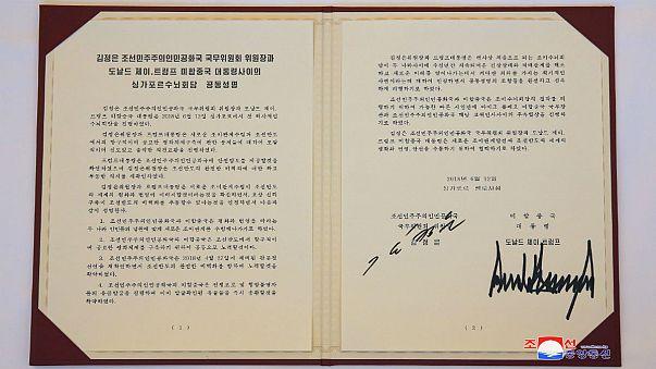 تلویزیون کره شمالی: ترامپ با لغو تحریمها موافقت کرده است