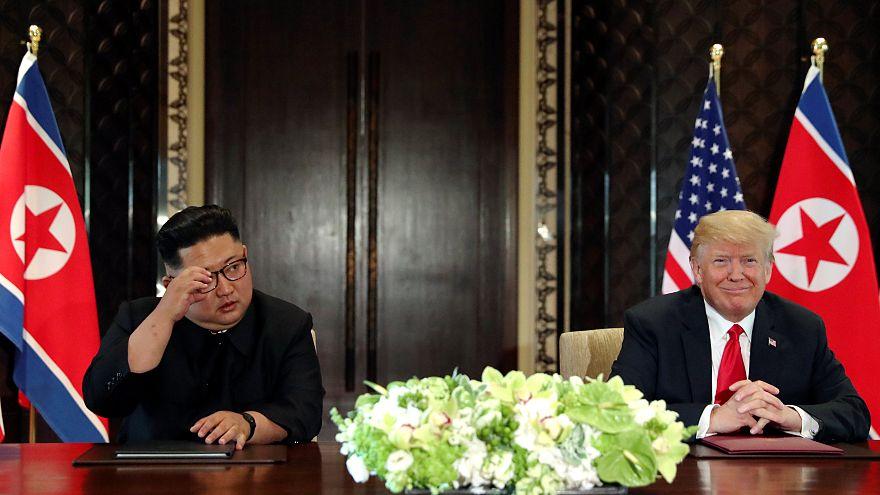Euphorie und Skepsis: So reagiert die Welt auf den Trump-Kim-Gipfel