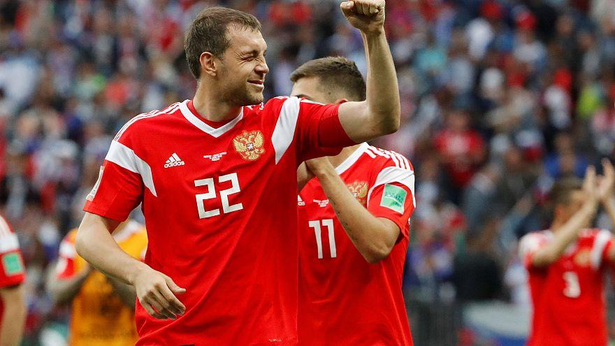 Россия разгромила Саудовскую Аравию - 5:0
