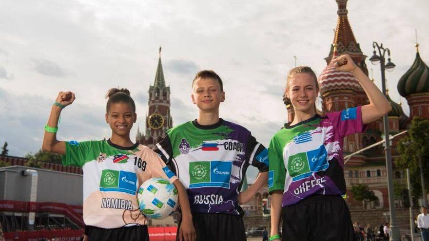 F4F: Ποδόσφαιρο για τη φιλία στη Ρωσία