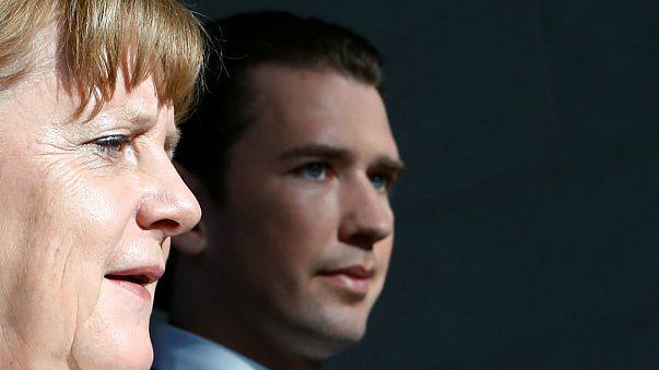 Merkel-Kurz: közös európai megoldás kell menekültügyben